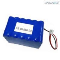 China Lithium Ion Polymer 12v Battery Packs , 12v Rechargeable Li Ion Battery on sale
