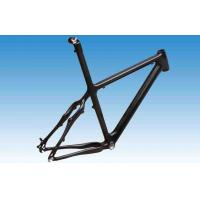 Quality 26er Carbon  Mountain Bike Frame with Integrated / Separate Seatpost FM003 for sale