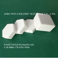 Buy cheap hexagon and square alumina ceramic wear resistant lining liner from wholesalers