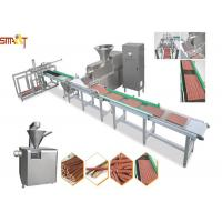 Quality Efficient Auto Meat Strip Traying System Cold Extrusion PetChewsTreats for sale