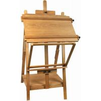 Quality Portable Table Top Painting Easels For Large Frame , Tabletop Drawing Board Easel 128cm Height for sale