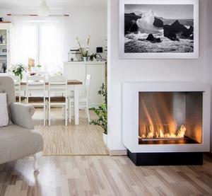 high quality eco-friendly intelligent ethanolfireplace freestanding bio ethanol fireplace