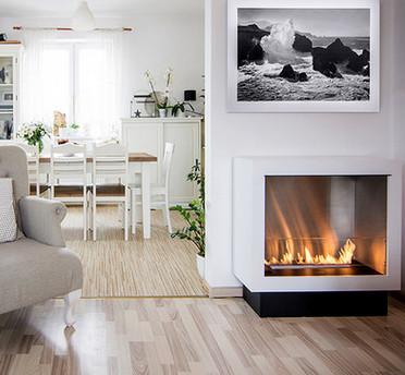 Buy high quality eco-friendly intelligent ethanolfireplace freestanding bio ethanol fireplace at wholesale prices