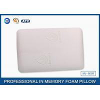 Molded Traditional Memory Foam Back Pillow Covered Bamboo Fabric With Aloe Vera