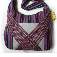 China Chinese folk art crafts -- Ethnic minority bag Shoulder bags hand Fashion bags on sale