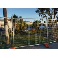 Quality 240 X 210cm Galvanized Chain Link Fence Panels Construction Q235 Steel Materials for sale