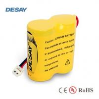 China 2CR123A-2 6.0V Lithium Battery Pack With Wires and Tags on sale