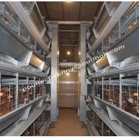 Quality 2019 Durable Galvanized Laying Hen Chicken Cage System From Poul Tech for sale