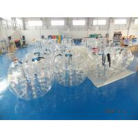 TPU Material Inflatable Bumper Ball With Rope Structure For Football Sports