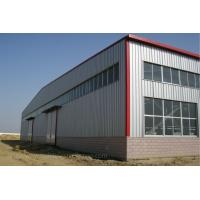 Quality Professional Steel Structure Workshop / Prefabricated Building Steel Frame House for sale