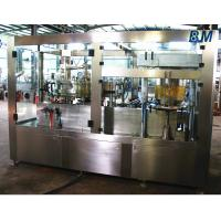 Quality Automatic Aluminum Can filling machine and sealing 2 in 1 for Soft / Carbonated Drink Water for sale