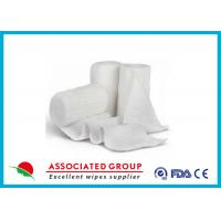 Quality Stretch Cotton Gauze Bandage Rolls , X Ray Detectable Bandages for sale