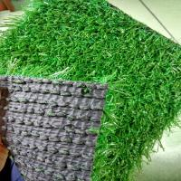 Quality 25mm Dog Safe Artificial Grass On Top Of Paving Slabs 9000 Dtex 1mm Width for sale