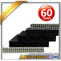 Quality Building material price list shuttering plank  plastic framework in construction for sale