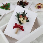 China Custom Flower Cards Handmade , Mini Creative Flower Bouquet Card for sale