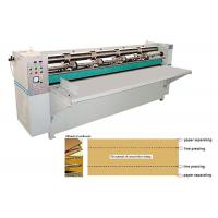 Creasing / Slitting Corrugated Carton Box Making Machine , Cardboard Box Maker
