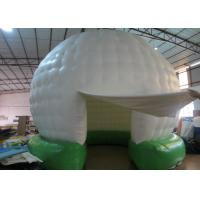 Quality White inflatable dome tent bouncer / new design inflatable tent house for sale for sale