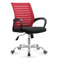 Quality Multi Colored Tall Adjustable Office Chair Without Headrest Customized Size for sale