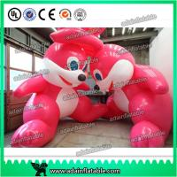 Quality 3m Giant Decoration Easter Inflatable Bugs Bunny/ Pink Inflatable Rabbit for sale