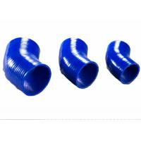 Quality 5 mm Custom Blue 45° Silicone Rubber Hose Elbow for Intercooler Connection for sale