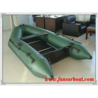 Quality Sport PVC Boat with Plywood Floor, Army green color (Length:2.3m) for sale