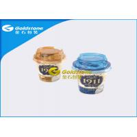 China Outerside Paper Inside Plastic Yogurt Cups With Lids High End Appearance on sale
