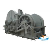 Buy cheap Marine Steel Hydraulic Towing Winch 10-500t Working Load With Multi - Plate from wholesalers