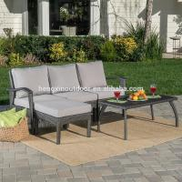 Buy cheap High Quality 5 Piece L Shaped Outdoor Patio Wicker Furniture Rattan Garden Sofa from wholesalers