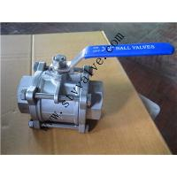 Good quality hot-sale 3pc ball valves for water oil gas