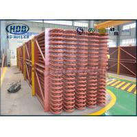 Quality Boiler Exhaust Heat Recovery System Low Temperature Economizer For CFB/ HRSG Boiler for sale
