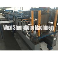 Quality K Style Half Round Gutter Roll Forming Machine 6 Inch Galvanized Sheet for sale