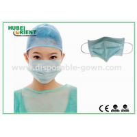 Quality Protective Disposable Face Mask / Non Woven Disposable Surgical Masks Free Samples for sale