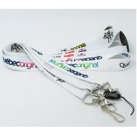 Quality Custom safety breakaway release polyester dye sublimated lanyards for sale