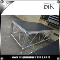 Quality used portable staging mobile folding stage for trade show used stage for sale for sale