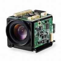 China 1/4-inch Color CCD Miniature Auto Zoom Camera with 500TVL Resolution on sale