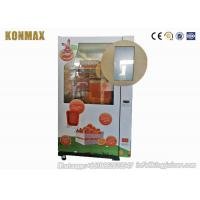 Intelligent Automated Fresh Fruit Juice Vending Machine Payment By Banknote And Coin