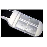 Buy cheap high power 42*1W Solar Powered LED Street Lights 10 hrs 75W/17.5V 2PCS 100AH/12V from wholesalers