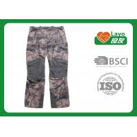 Quality Winter Waterproof Hunting Camo Pants , Mossy Oak Camo Pants Anti Static for sale