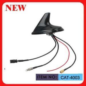 1575.42mhz Auto Gps Antenna , Shark Fin Vehicle Gps Receiver Antenna