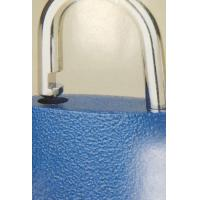 China Blue Decentered Iron High Security Padlock Long Working Lifespan on sale