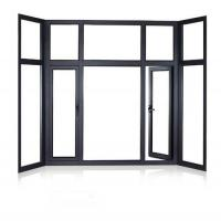 Quality PRIMA best price clear glass aluminum casement window drawing for sale