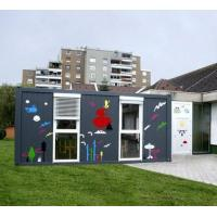 Quality modern living flat pack china container house supplier for sale