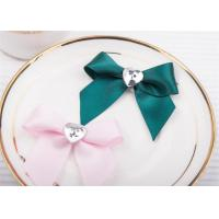 Quality Decoration Tie Satin Ribbon Bow WashableHome Textile With Dyeing for sale