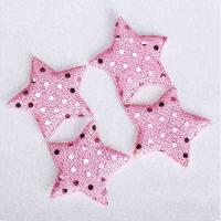 Quality Colorful Applique Christmas Ornaments For Girls Hair Jewelry Clips Decor for sale