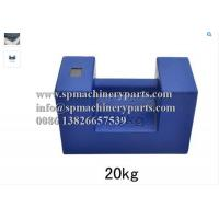 Buy cheap Weight Measurement Equipment Rectangular Shape 20 kg Proof Load Test Bar Weight With Grip Handle from wholesalers
