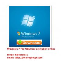Quality MS Professional Windows 7 Product Key Codes , Activated And Verified Online for sale