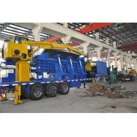Quality Hydraulic Drive Portable Baler / Logger Diesel 220 - 300 HP 75 - 110KW for sale