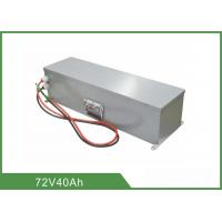 Quality Pollution Free Rechargeable LiFePO4 Battery 72V 40Ah High Energy Density For UPS for sale
