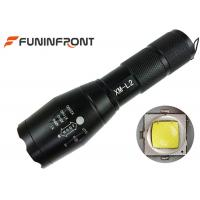 Quality 10W Cree XM-L T6 or L2 Handheld Zoom LED Flashlight Portable with 5 Light Modes for sale