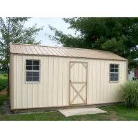 China 8x8ft metal shed on sale